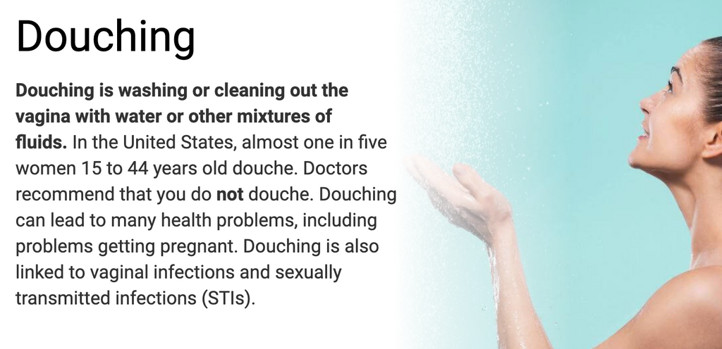 douching-vaginal-yeast-infections