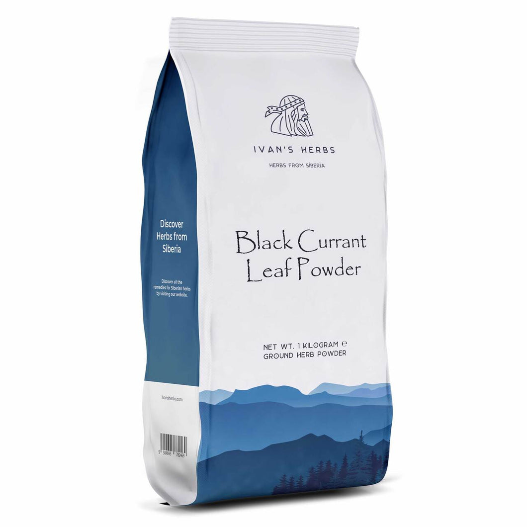 Black Currant Leaf Powder | 1 kg - Ivan's Herbs