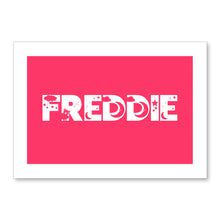 Load image into Gallery viewer, Dreamy Kids Personalised Name Print Pink A4 / A5