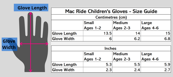 Children's Bike Gloves  *See below re tax and shipping