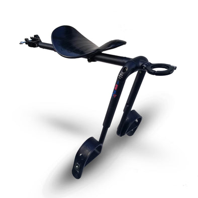 Black - Mac Ride Child Bike Seat *see below re tax, charged on arrival