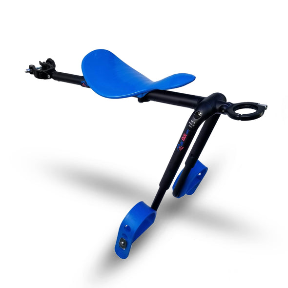Blue - Mac Ride Child Bike Seat *see below re tax, charged on arrival