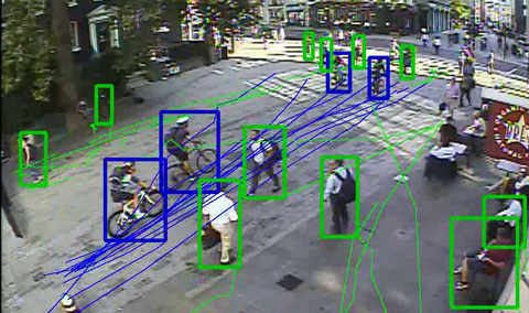 Street Systems' technology automatically identifies and tracks pedestrians and cyclists