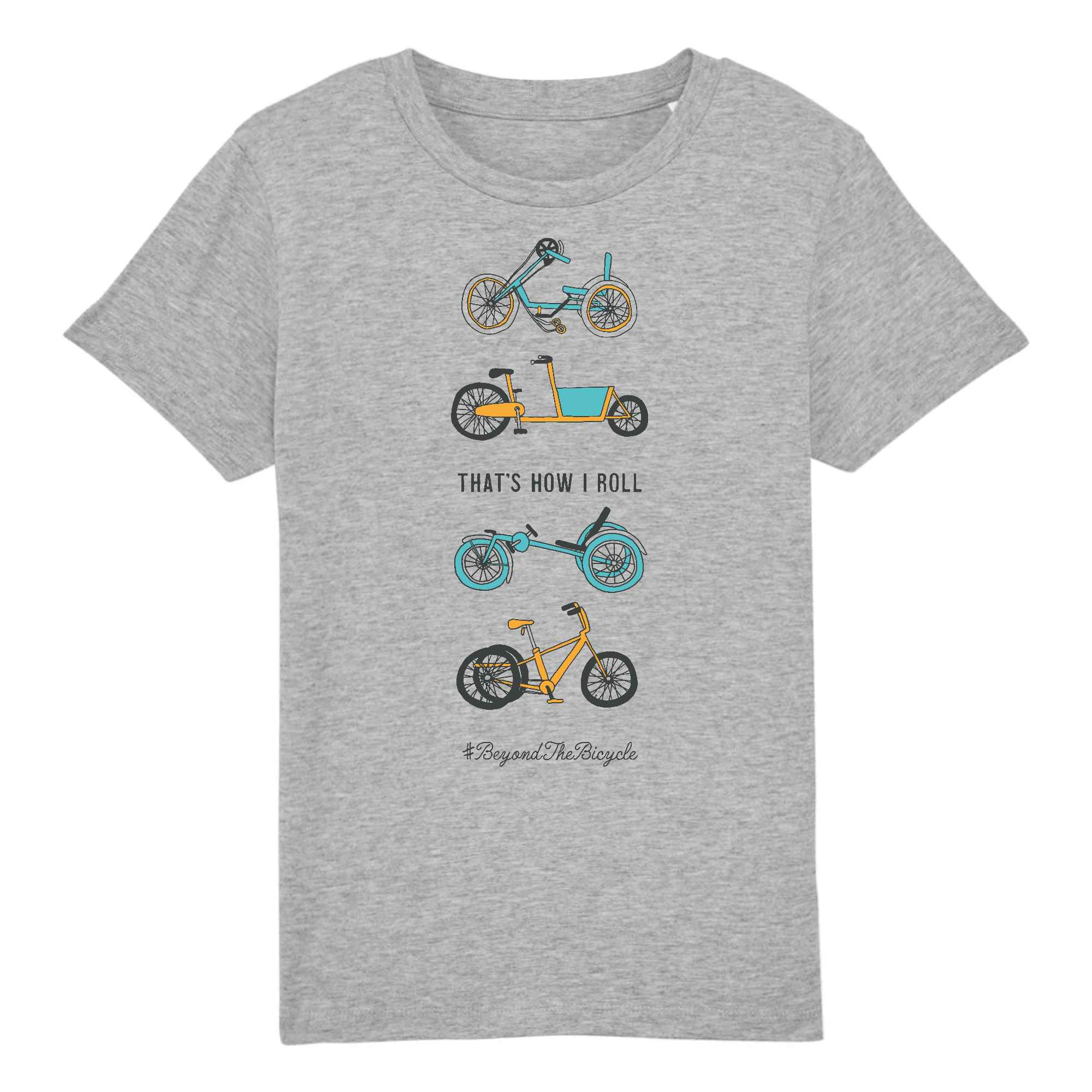 """That's how I roll"" unisex t-shirt"