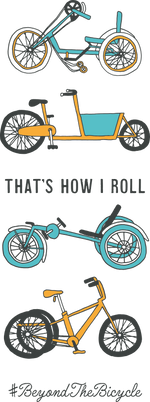 "Load image into Gallery viewer, ""That's how I roll"" poster - In Tandem Clothing"
