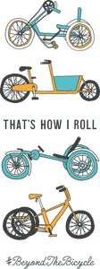 """That's how I roll"" poster - In Tandem Clothing"