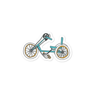 Hand cycle sticker