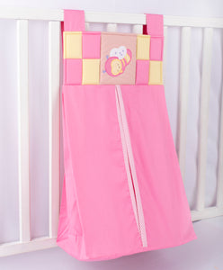 Blooming Buds Honey Bee Diaper Stacker/Diaper Caddy (Pink)