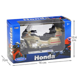 Honda Gold Wing - Welly 1:18 Motos miniatures