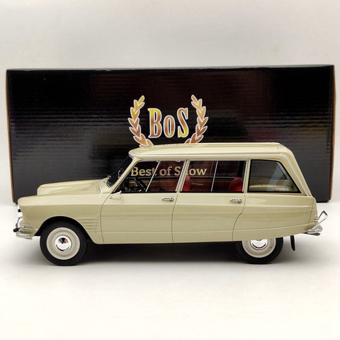 Citroen Ami 6 Break 1967 Beige - BOS 1:18 Voitures