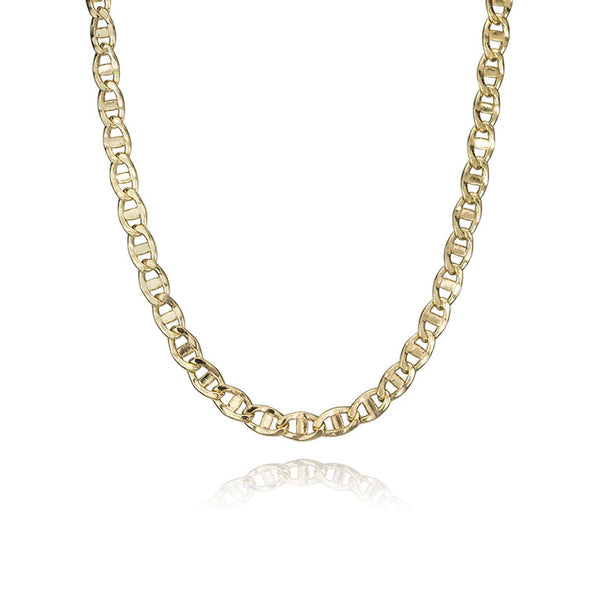 14K Yellow Gold Mariner Link Necklace