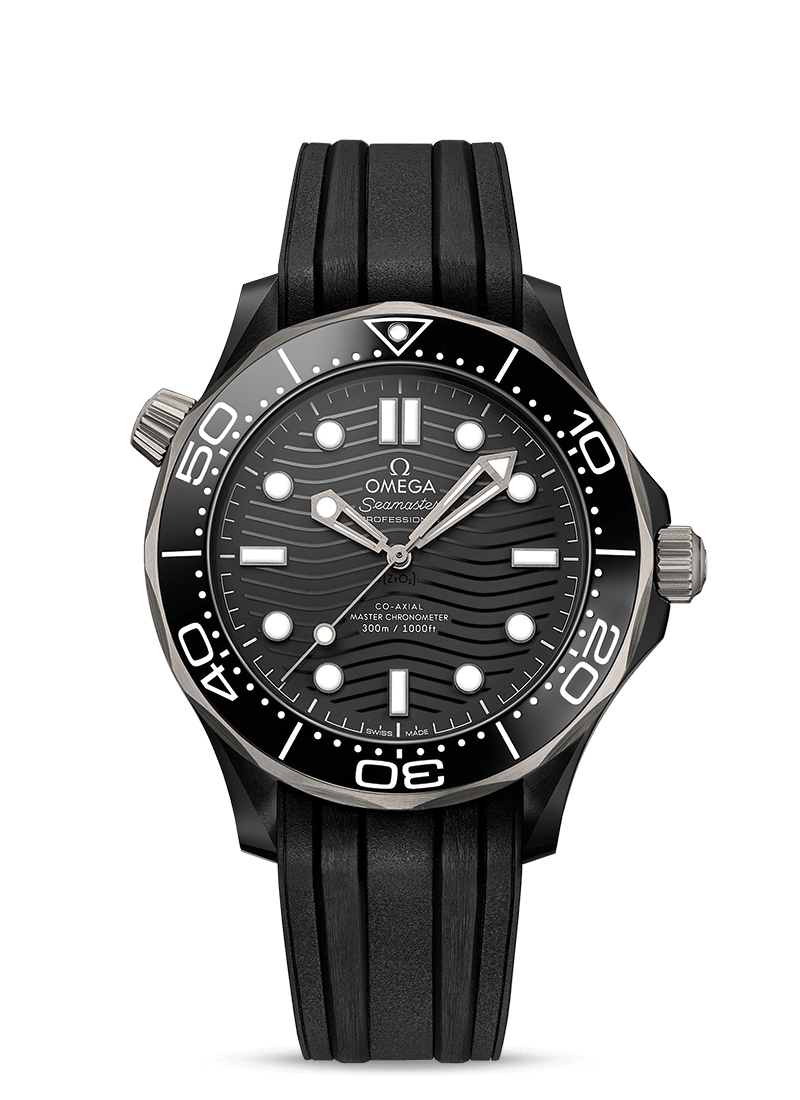 OMEGA Seamaster Diver 300M Co‑Axial Master Chronometer 43.5 mm