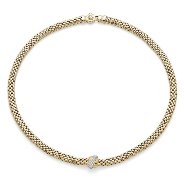 FOPE Vendôme Collection Flex'It Necklace with Diamonds