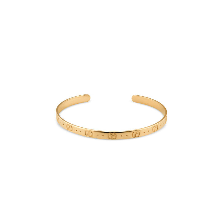 Gucci 18K Yellow Gold Icon bracelet