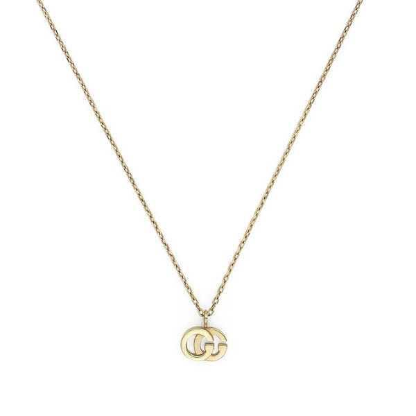 Gucci 18K Yellow Gold GG Running Necklace
