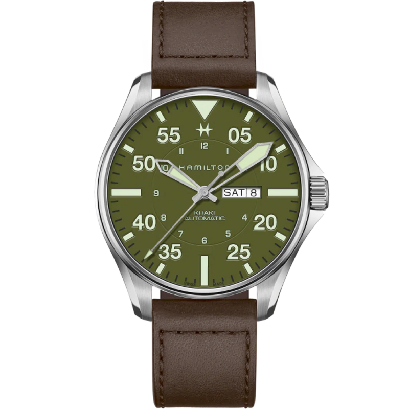 "Hamilton Khaki Aviation Pilot ""Schott NYC"" - Limited Edition"