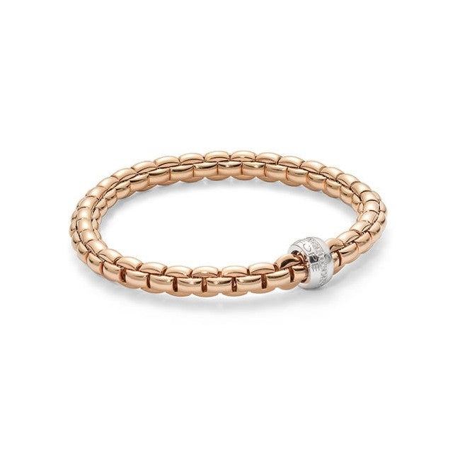 FOPE Eka Collection Flex'It Bracelet with Diamond Rondel