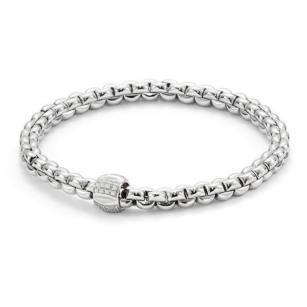 FOPE Olly Collection Flex'It Bracelet with Diamond Rondel
