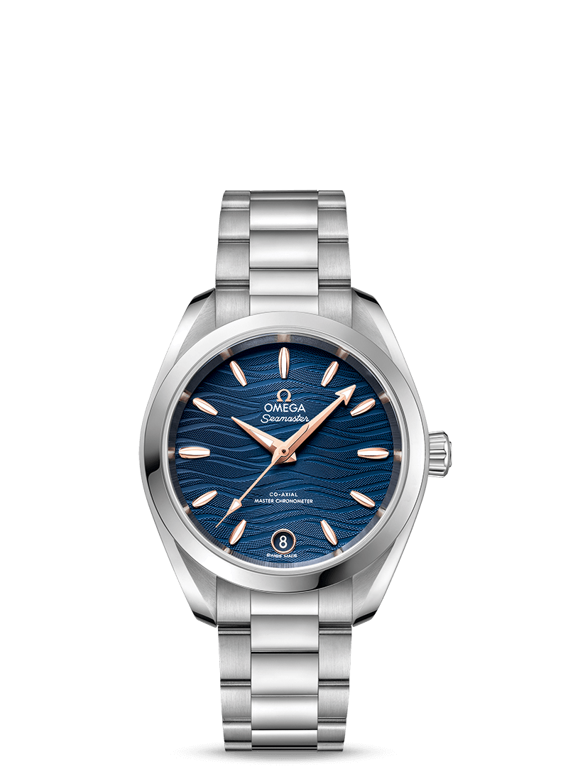 OMEGA Seamaster Aqua Terra 150M Co‑Axial Master Chronometer 34 mm