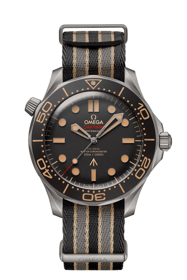 OMEGA Seamaster Diver 300m Co-Axial Master Chronometer 42mm 007 James Bond Edition