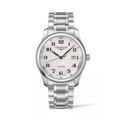 Longines Master Collection 40mm Automatic Stainless Steel  Silver Barleycorn Dial