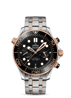 OMEGA Seamaster Diver 300M Co‑Axial Master Chronometer Chronograph 44 mm