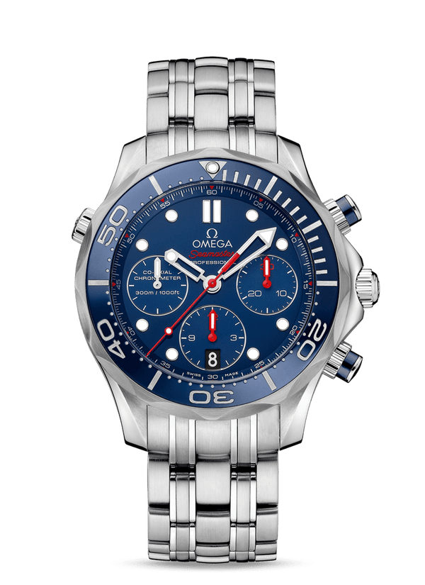 OMEGA Seamaster Diver 300M Co‑Axial Chronograph 44 mm