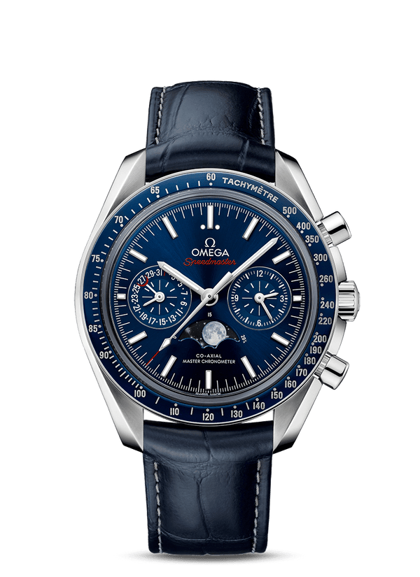 OMEGA Speedmaster Moonwatch Co‑Axial Master Chronometer Moonphase Chronograph 44.25 mm