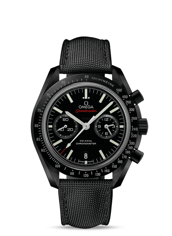 "OMEGA Speedmaster Moonwatch Co‑Axial Chronograph 44.25 mm ""Dark Side of the Moon"""