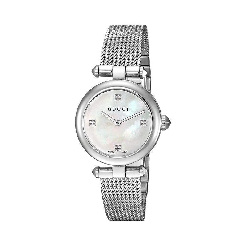 Gucci Stainless Steel Diamantissima Watch