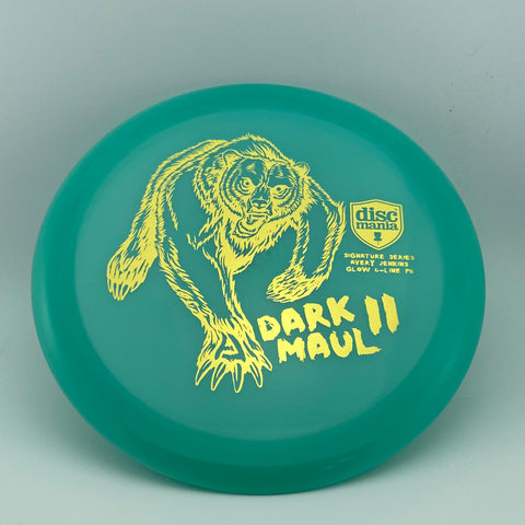 Discmania Avery Jenkins Color Glow C-Line PD Dark Maul II