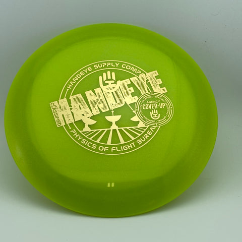 Dynamic Discs Lucid Metallic Enforcer Cover Up HSCo Stamp