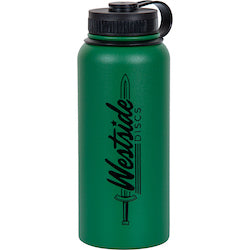 Westside Discs 32oz Stainless Steel Canteen Water Bottle