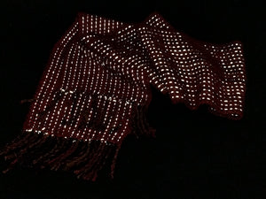 Autumn Apple Reflective Scarf