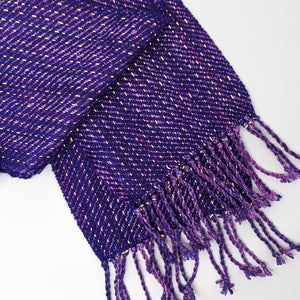Purple Mystery Reflective Scarf