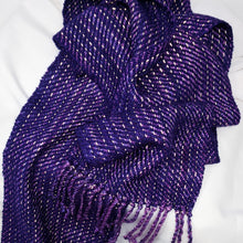 Load image into Gallery viewer, Purple Mystery Reflective Scarf