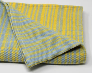 XL Baby/Toddler Blanket - Asymmetrical Stripe