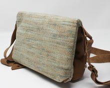 Load image into Gallery viewer, Hand-dyed Green Leather Purse