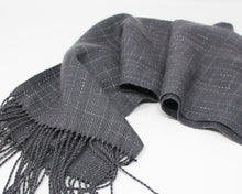 Load image into Gallery viewer, Break the Grid Reflective Scarf - Gray