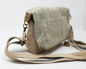 Corduroy Handwoven Folded Bag