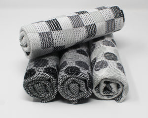 Polka Dot Kitchen Towels - Black & White