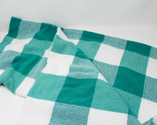 Load image into Gallery viewer, LarGingham Pic Nic Throw Blanket