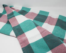 Load image into Gallery viewer, Large Gingham Pic Nic Throw Blanket