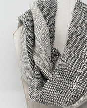 Load image into Gallery viewer, Silk and Hemp Summer Weight Infinity Scarf - Silver