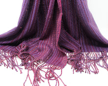 Load image into Gallery viewer, Muscadine Mélange Shawl