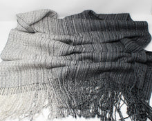 Load image into Gallery viewer, Smoke Mélange Shawl