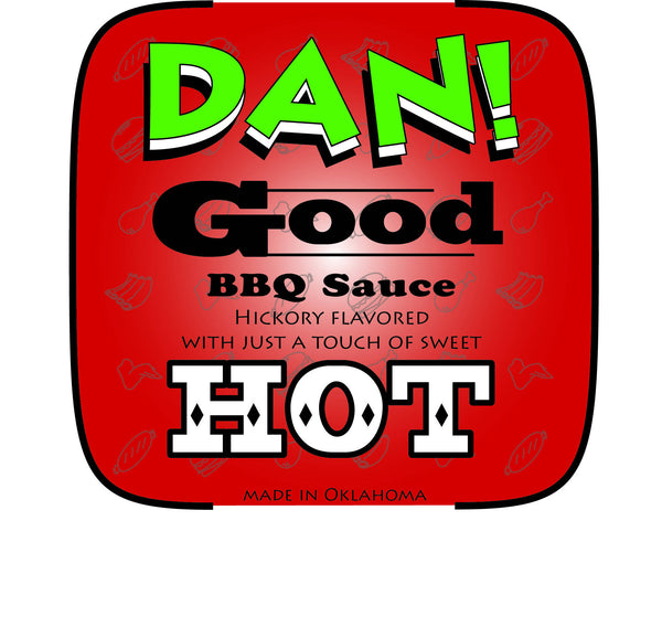 DAN! Good BBQ Sauce Hot