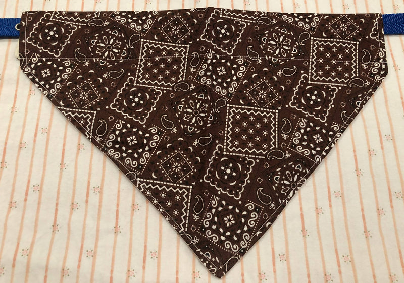 Handmade Cotton XSmall Pet Bandana