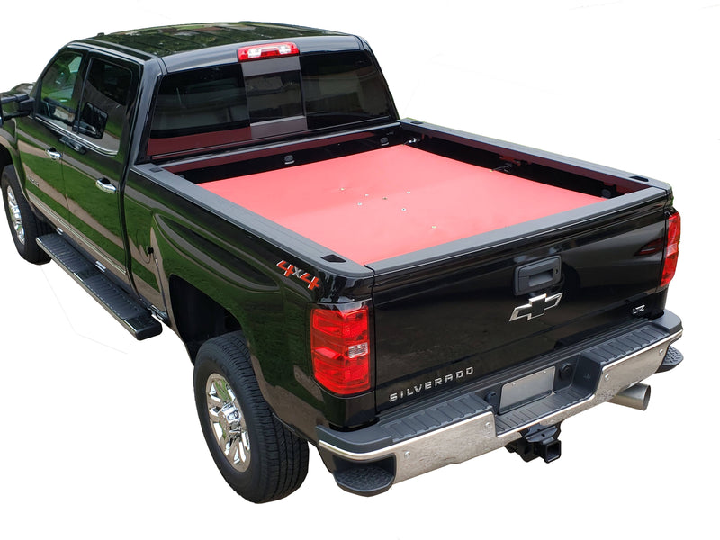"Checkered Flag Embroidered Tonneau Cover - Standard Bed 6' 6"" - GM"