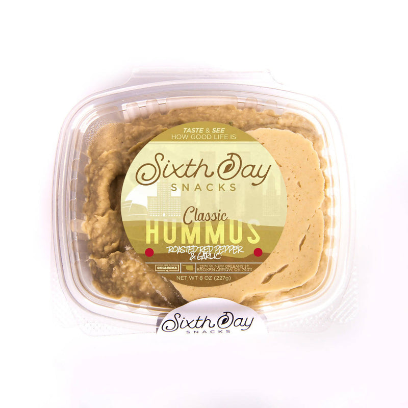 Classic Chickpea Roasted Red Pepper & Garlic Hummus (8 oz.)